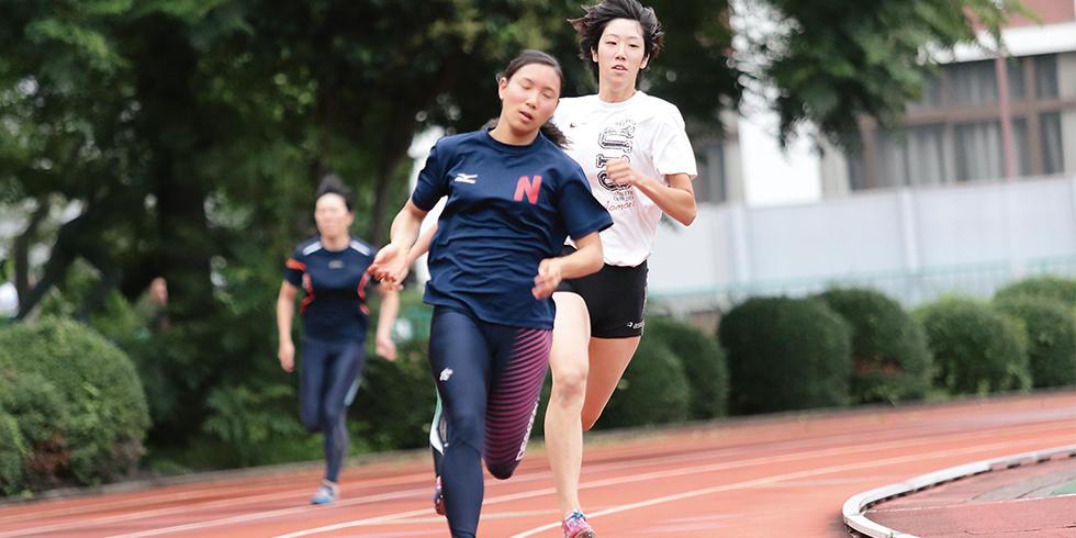 陸上競技部 | クラブ紹介 | キャンパスライフ | 日本女子体育大学